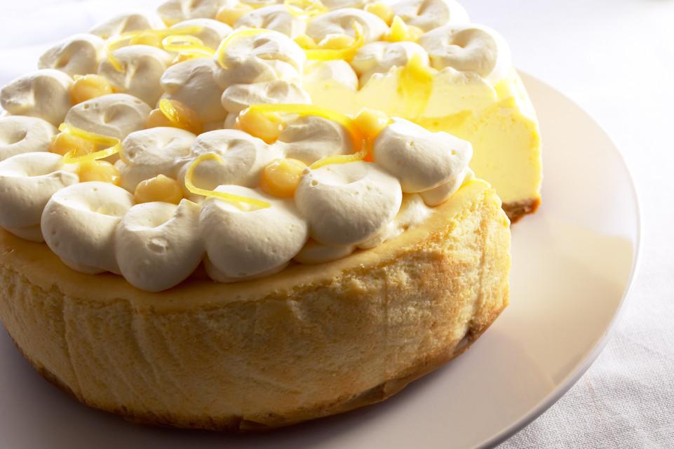 Lemon-Mascapone-cheesecake